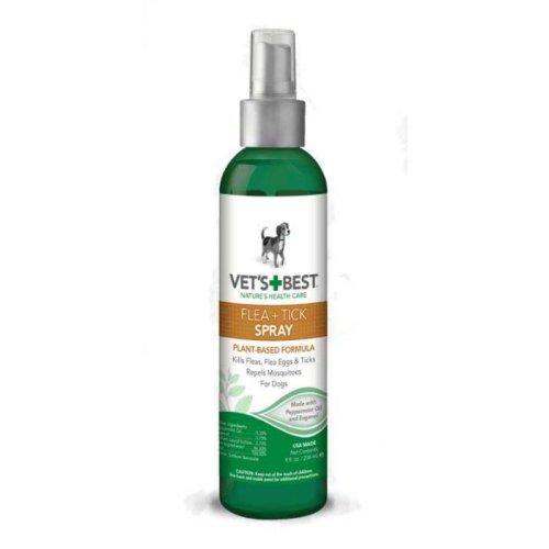 Vets Best Flea+Tick Spray - спрей Вэт Бест от блох и клещей для собак 236 мл (vb10346)