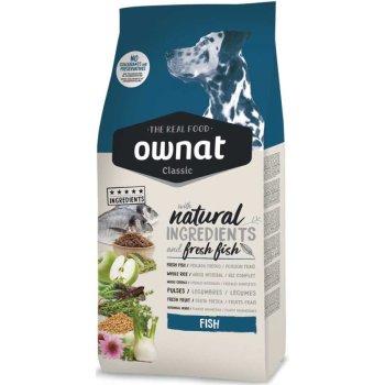 Ownat Classic Fish - корм Овнат с рыбой для взрослых собак 4 кг (16099)