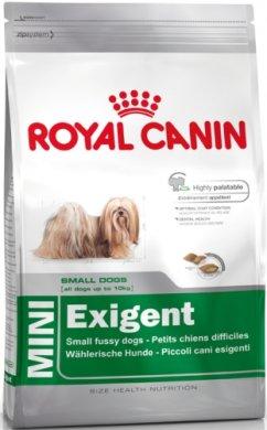 Royal Canin Mini Exigent - корм Роял Канин для привередливых взрослых собак мелких пород 800 г (1006008)