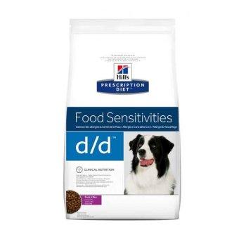 Hills PD Canine d/d - диетический корм Хилс при пищевых аллергиях у собак с уткой и рисом 2 кг (9117)