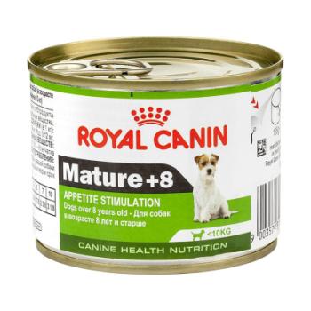 Royal Canin Mature +8 - консервы Роял Канин для стареющих собак старше 8 лет 195 г (4303002)