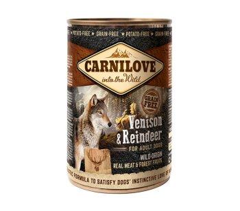 Carnilove Dog - консервы Карнилав с северным оленем для собак 400 г (100133/529292)