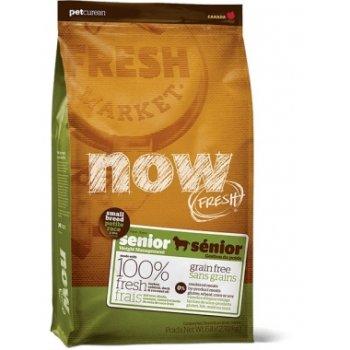 Now Fresh Senior Small Breed Recipe - беззерновой корм Нау Фреш для пожилых собак малых пород 2,72 кг (202-2406)