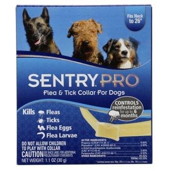 Sentry Pro - ошейник от блох и клещей Сентри для собак и щенков Длина 58 см (20677)